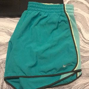Teal Nike Athletic Shorts